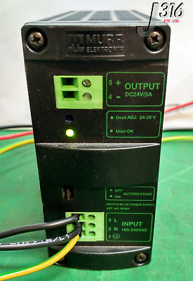 9703 Murr Elektronik Switch Mode Power Supply (Lot Of 2) Mcs5-115-230/24