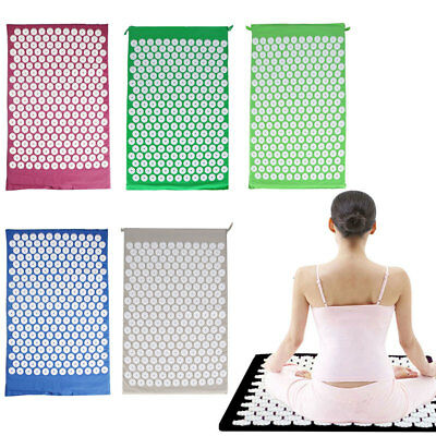 Massage Acupressure Mat Yoga Mats Relieve Pain Stress Acupuncture Spike