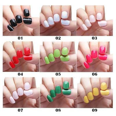 Self-adhesive Nail Polish Foils Decals Stickers Nail Art Manicure Wrap Patch New