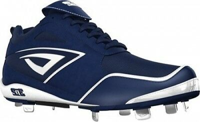 (9.5, Navy/White) - 3N2 Women's Rally Metal Fastpitch. Delivery is Free