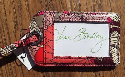 Vera Bradley Laminated Luggage Tag in Bohemian Blooms, NWT