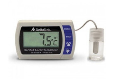 Certified Alarm Thermometer with NIST Compliance Certificate - 12215