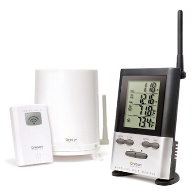 Wireless Rain Gauge with Outdoor Temperature - RGR126N
