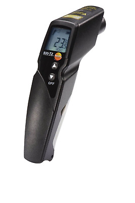 Testo 830-T2 - Infrared thermometer with 2-point laser marking (12:1 optics) ...