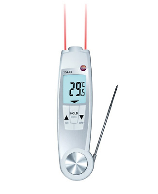 Waterproof Infrared & Probe Thermometer - 0560-1040