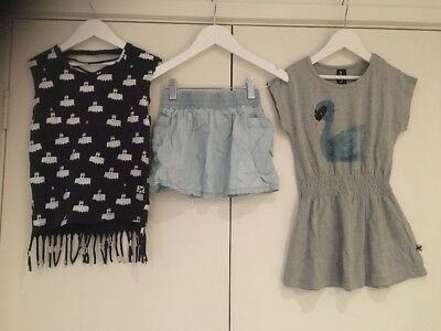 MINTI Size 4  Mixed Items - Dress, Skirt & T-shirt In Ex. Condition