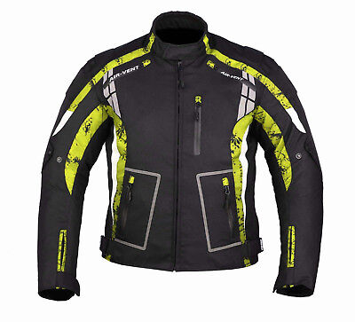 New Motorbike Motorcycle Textile Jacket Coat Waterproof With CE Approved Armored