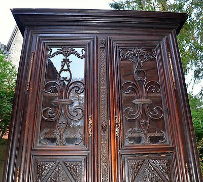 18th Century French Armoire, linen cupboard, book case, wardrobe,