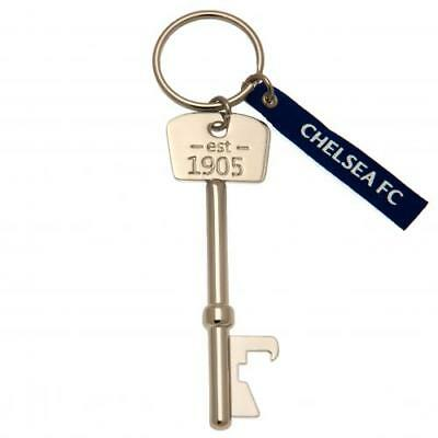 Chelsea F.C. Bottle Opener Keyring Key