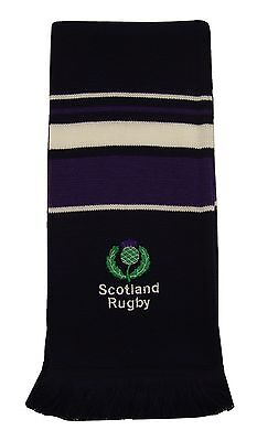 Scotland Rugby Embroidered Scarf