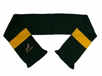 South Africa Rugby Embroidered Scarf