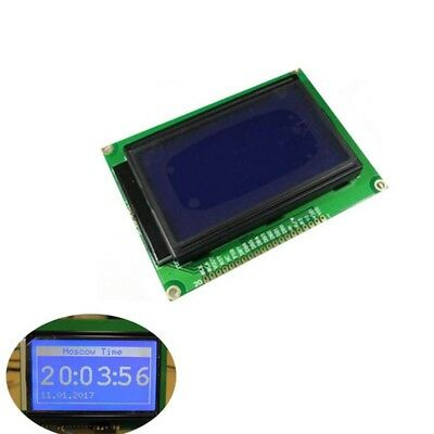 128*64 Dots Display LCD module 12864 5V blue screen backlight LCD for Arduino
