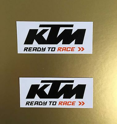 KS011 KTM Sticker Aufkleber 2 St. Original KTM Cross Super Duke R 1290