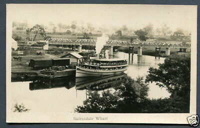 Australia,victoria,bairnsdale,lovely Clear Rp Of Bridge & Ferry,un
