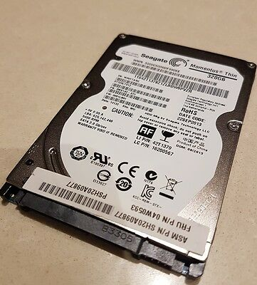 "Seagate Momentus Thin 320 GB Internal 5400 RPM 2.5"" laptop Hard Drive"