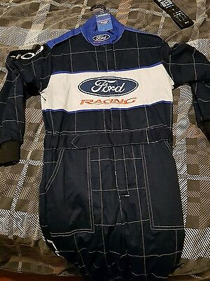 Ford racing driver's suit medium brand new with tags