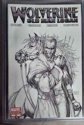 WOLVERINE #66 OLD MAN LOGAN 1:100 TURNER SKETCH VARIANT CGC Ready HTF