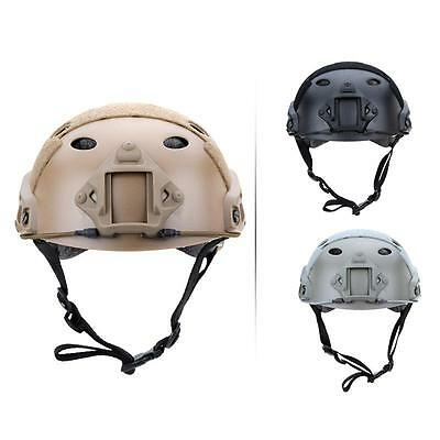 Hot Military Tactical Airsoft Paintball SWAT Base Jump Protective Fast Helmet LS