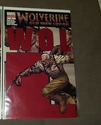 Wolverine 66 4th print variant 2003 series cgc ready old man logan