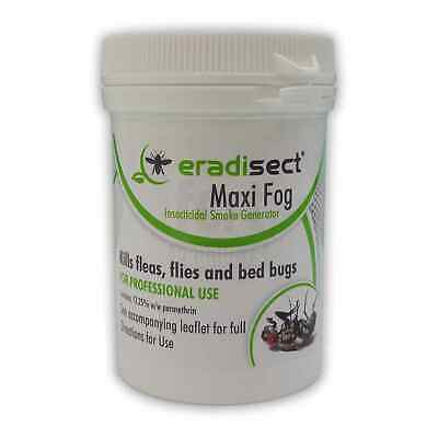 Eradisect 1x Large Insect Smoke Pest Bomb Fly Wasp Bed Bug & Flea Killer Control