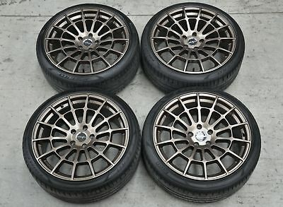 19 Inch GENUINE RB3 Wheels and Tyres Pirelli 235 35 R19 VW Golf GTI R Mk6 Mk7