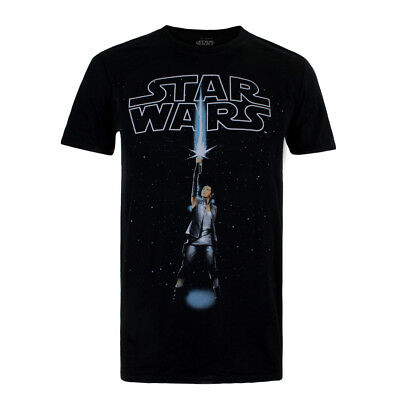 Mens Star Wars The Last Jedi Rey Logo T-Shirt