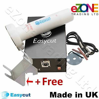 EASYCUT Electric Doner Kebab Knife Slicer Cutter White Plastic Machine