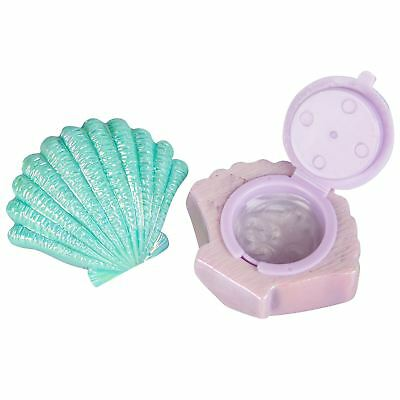 NPW Mermazing Shell Shaped Lip Balm Set of 2 Vanilla Pearl & Sea Mint