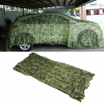 Camouflage Netting Military Army Camo Hunting Shooting Hide Cover Net VO