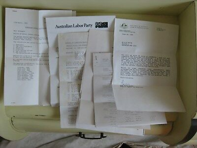 ALP Letters to Delegates 1980's