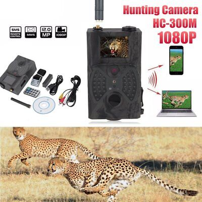 HD HC300M Trail Hunting Camera 940NM Scouting Infrared 12MP MMS / GPRS XP