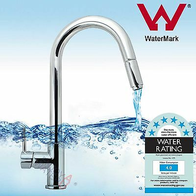 360 Degree Pull out hose Swivel Spout Kitchen Sink Basin Vanity Mixer Tap Faucet