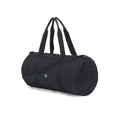 d1157acf3618 HERSCHEL SUPPLY CO. Sutton Mid-Volume Duffel Bag Site Black 10251-01146-OS  - EUR 53