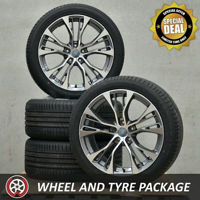 20 Inch Aftermarket BMW X5 Wheels and NEW Tyres 275 40 R20 to fit E70 F15 Models