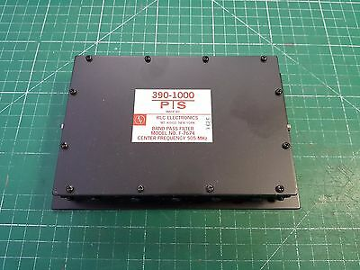 RLC Electronics Band Pass Filter Model F-7674 500MHz Centre Frequency