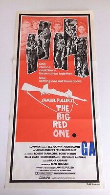 Vintage Film Poster = The Big Red One = Lee Marvin