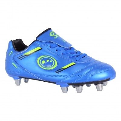 Optimum Tribal Rugby Adults Blue/Green Boots