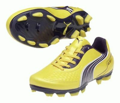 Puma V5.11 Fg Junior Yellow/Purple S2 Boots