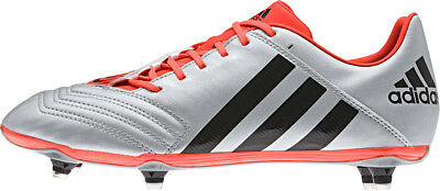 Adidas Incurza Rugby Sg Trx S Adults Silver/Black/Solar Red Boots