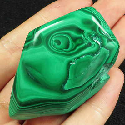 Malachite 63,6 gr - Natural Free Form Malachite