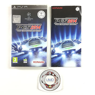 Game Pro Evolution Soccer 14 - PES 2014 On Console Sony PSP
