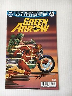 DC Comics: Green Arrow #26 Variant Cover (2017) - BN - Bagged and Boarded