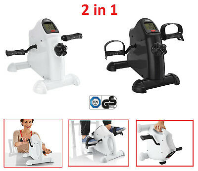 Mini Bike Trainer Pedaltrainer Heimtrainer Arm- und Beintrainer Bewegungstrainer
