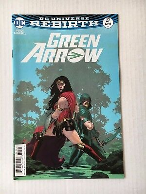 DC Comics: Green Arrow #27 Variant Cover (2017) - BN - Bagged and Boarded