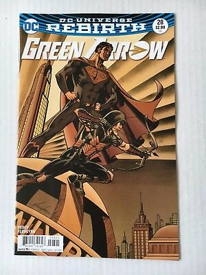 DC Comics: Green Arrow #28 Variant Cover (2017) - BN - Bagged and Boarded