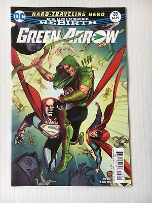 DC Comics: Green Arrow #28 (2017) - BN - Bagged and Boarded