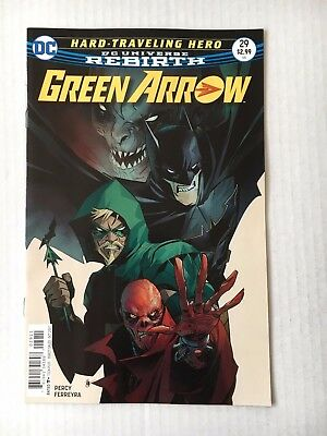 DC Comics: Rebirth Green Arrow #29 (2017) - BN - Bagged and Boarded