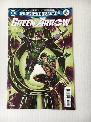 DC Comics: Green Arrow #30 Variant Cover (2017) - BN - Bagged and Boarded