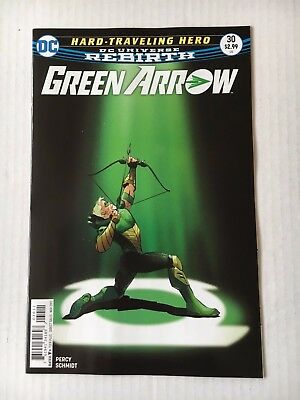 DC Comics: Green Arrow #30 (2017) - BN - Bagged and Boarded