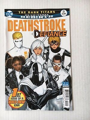 DC Comics: Deathstroke #21 (2017) - BN - Bagged and Boarded